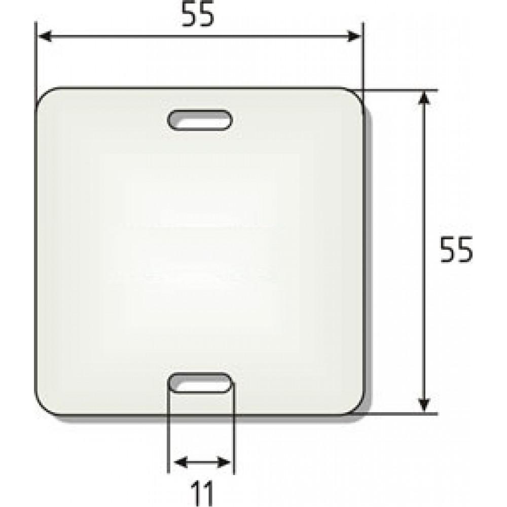 Бирка У-134 (квадрат) (100шт) (60)
