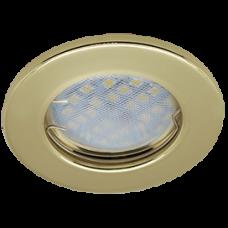 Светильник точечный MR16 GU5.3 золото Ecola DL90 кd74 30x80мм 2шт/уп (2/200)