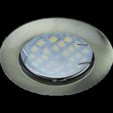 Светильник точечный MR16 GU5.3 черненая бронза Ecola DL100 24x75мм (10/100)