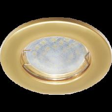 Светильник точечный MR16 GU5.3 перламутровое золото Ecola DL90 кd74 30x80мм 2шт/уп (2/200)