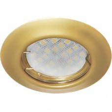 Светильник точечный MR16 GU5.3 перламутровое золото Ecola DL92 кd74 30x80мм (10/200)
