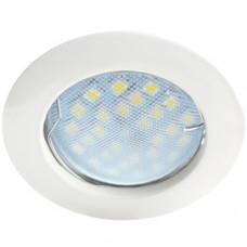 Светильник точечный MR16 GU5.3 белый Ecola DL100 24x75мм (10/100)