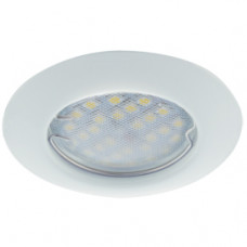 Светильник точечный MR16 GU5.3 белый Ecola DL92 кd74 30x80мм (10/200)