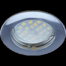Светильник точечный MR16 GU5.3 хром Ecola DL100 24x75мм (10/100)