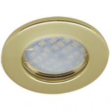 Светильник точечный MR16 GU5.3 золото Ecola DL90 кd74 30x80мм (10/200)