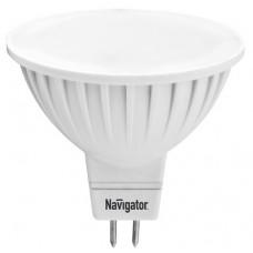 Лампа диодная MR16 GU5.3 5Вт 3000К 350Лм Navigator (100)