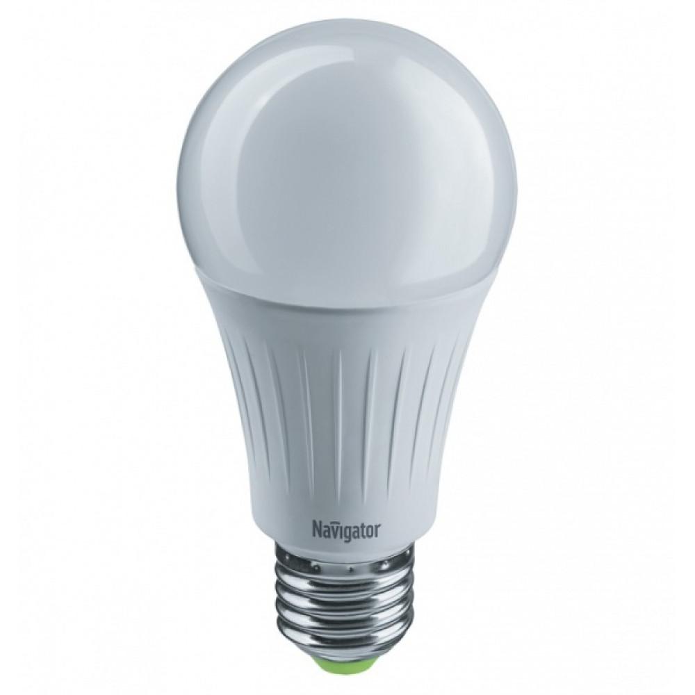 Лампа диодная A60 15Вт Е27 4000К 1200Лм Navigator (10)