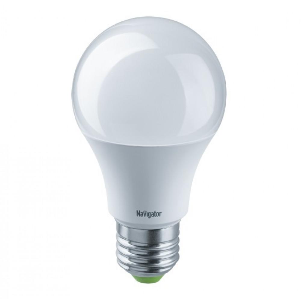 Лампа диодная A60 местного освещения 12-24В 10Вт Е27 4000К 800Лм Navigator (10)