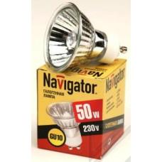Лампа Navigator JCDRC 50W GU10 230V (10/200)