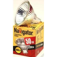 Лампа Navigator JCDR 50W G5.3 230V (10/200)