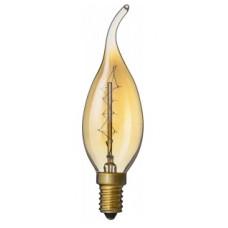 .Лампа накаливания свеча на ветру 40Вт Е14 Navigator ретро (10)