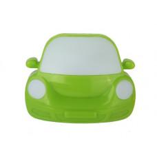 Ночник 220В Camelion NL-197 Машинка зеленый 0.5Вт (24)
