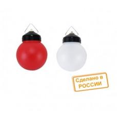 Светильник промышленный подвесной Е27 TDM НСП 03-60-027 шар пластик IP44 красный (25)