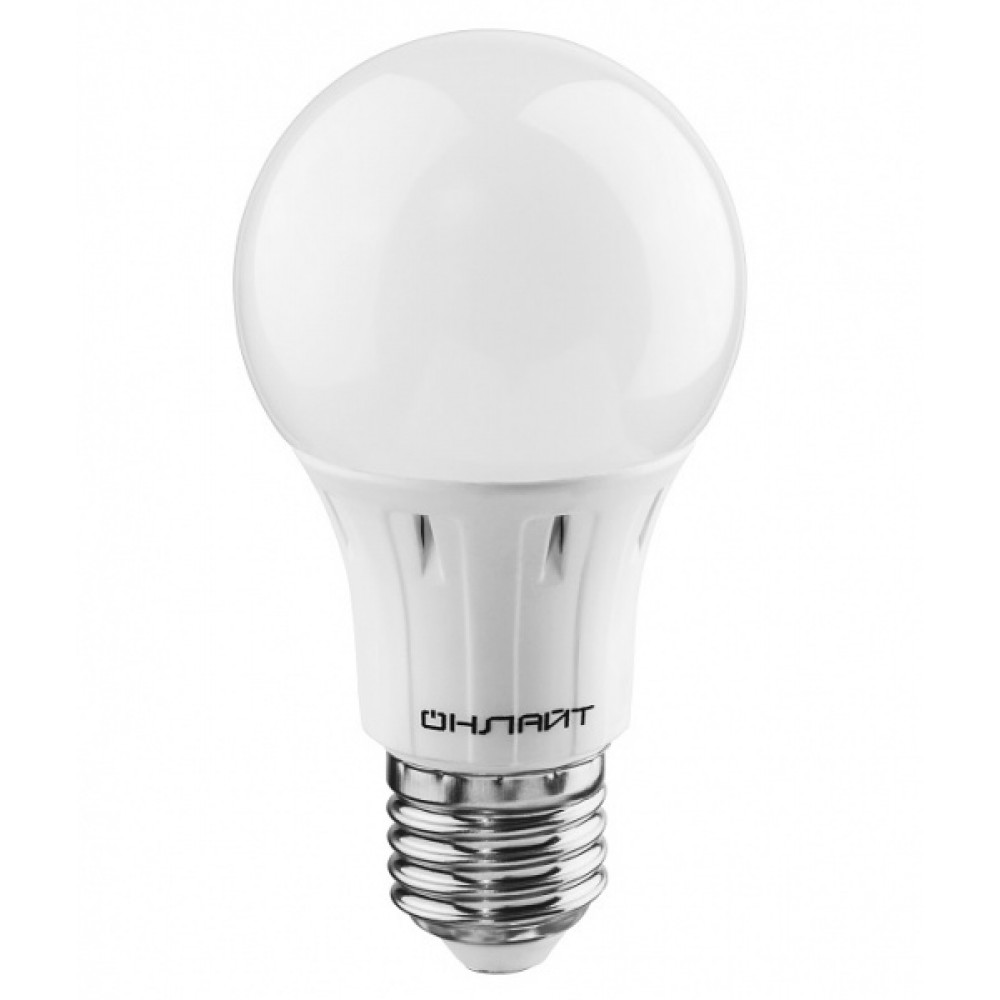 Лампа диодная A60 7Вт Е27 4000К 560Лм Онлайт (100)