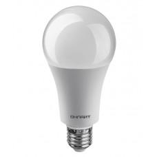 Лампа диодная A60 25Вт Е27 2700К 2100Лм Онлайт (100)