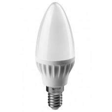 Лампа диодная свеча 10Вт Е14 2700К 700Лм Онлайт (100)