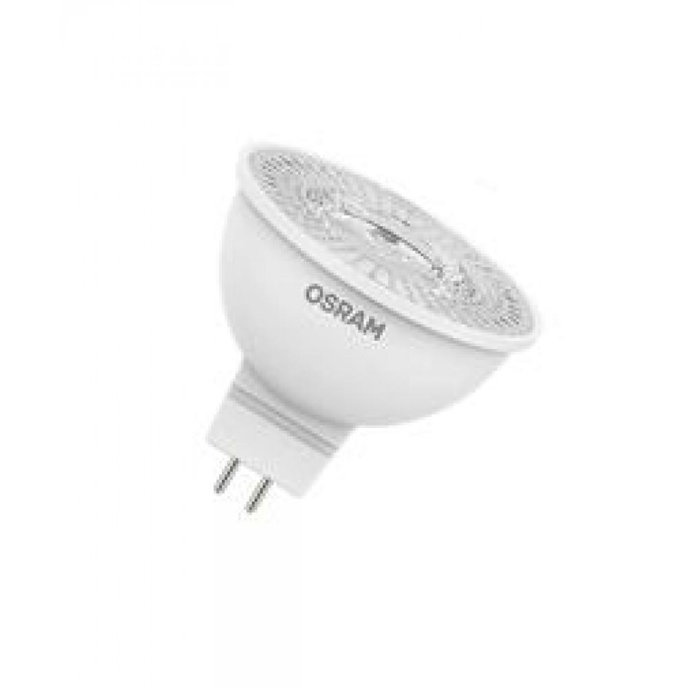 Лампа диодная MR16 GU5.3 5.2Вт 3000К 500Лм Osram (10)*