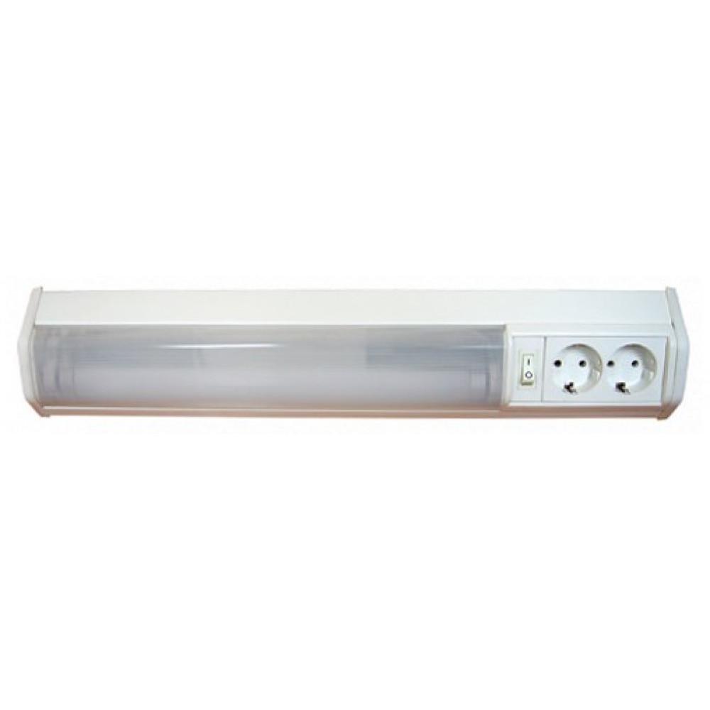 !Светильник линейный люминесцентный Т8 36Вт IP20 1368мм 2розет выключатель Camelion WL-3021 угловой (12)