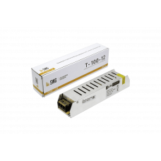 Драйвер 12В 100Вт IP20 8A 188x46x36мм SWG (50)