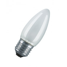 Лампа накаливания свеча матовая 60Вт Е27 Osram (100)