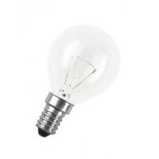 Лампа накаливания шар прозрачная 60Вт Е14 Osram (100)