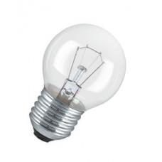 Лампа накаливания шар прозрачная 60Вт Е27 Osram (100)