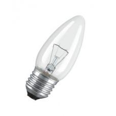 Лампа накаливания свеча прозрачная 40Вт Е27 Osram (100)