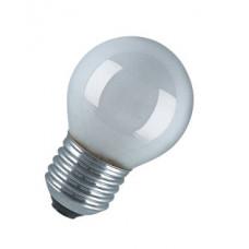 Лампа накаливания шар матовая 40Вт Е27 Osram (100)