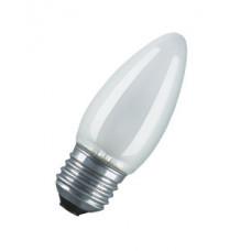 Лампа накаливания свеча матовая 40Вт Е27 Osram (100)