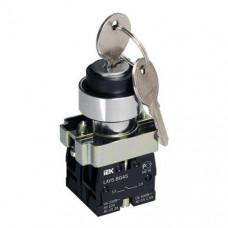 Переключатель IEK LAY5-BG45 I-O ключ нефикс (20)