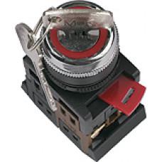 Переключатель TDM AKS-22 I-O 1з+1р 220В ключ (10)