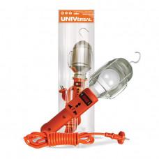 Светильник переносной Е27 Универсал 60Вт 5м розетка (15)