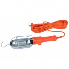 Светильник переносной Е27 Эра 60Вт 10м розетка выключатель