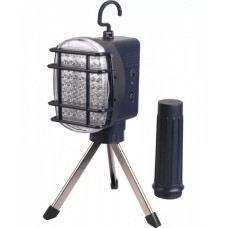 Светильник переносной диодный IEK ДРО 2063Л 1.2Вт IP44 63LED аккумулятор 1.2Ач тренога (6)