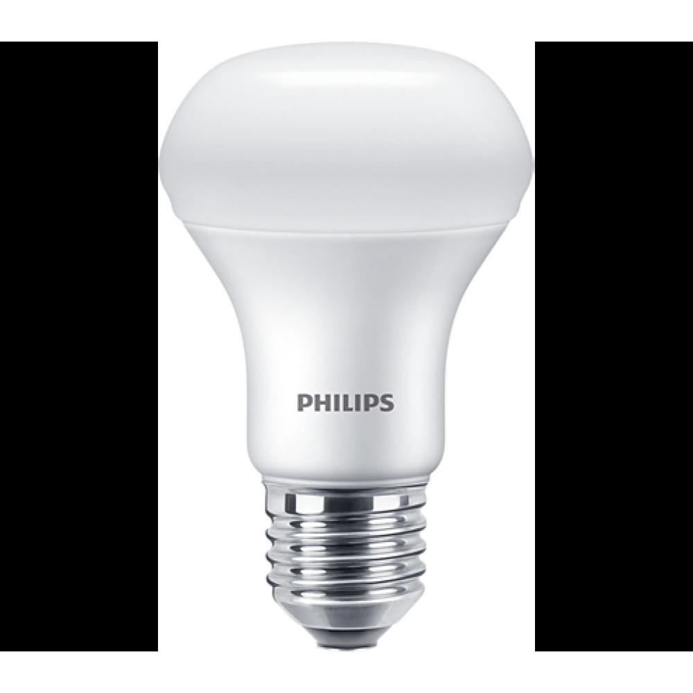 Лампа диодная R63 230В 7Вт Е27 4000К Philips Essential (12)