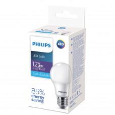 Лампа диодная A60 12Вт Е27 6500К 1150Лм Philips ECO (20)