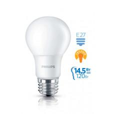 Лампа диодная A67 14.5Вт Е27 3000К 1700Лм Philips (6)