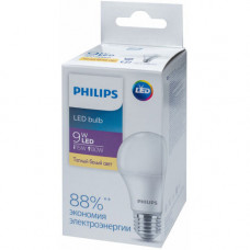 Лампа диодная A60 9Вт Е27 3000К 990Лм Philips Ecohome (20)