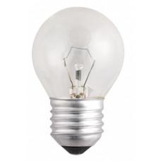 Лампа накаливания шар G45 40Вт Е27 прозрачная Philips (100)