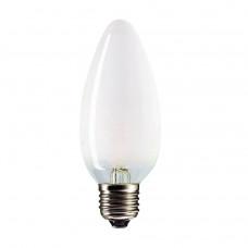 Лампа накаливания свеча 40Вт Е27 матовая Philips (10/100)