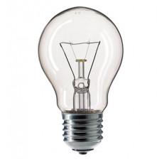 Лампа накаливания A55 60Вт прозрачная Philips (10/120)