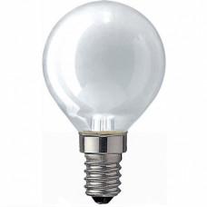 Лампа накаливания шар G45 60Вт Е14 матовая Philips (100)