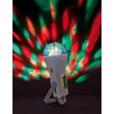 Дисколампа Космос аккум. USB фонарь Е27 (40)
