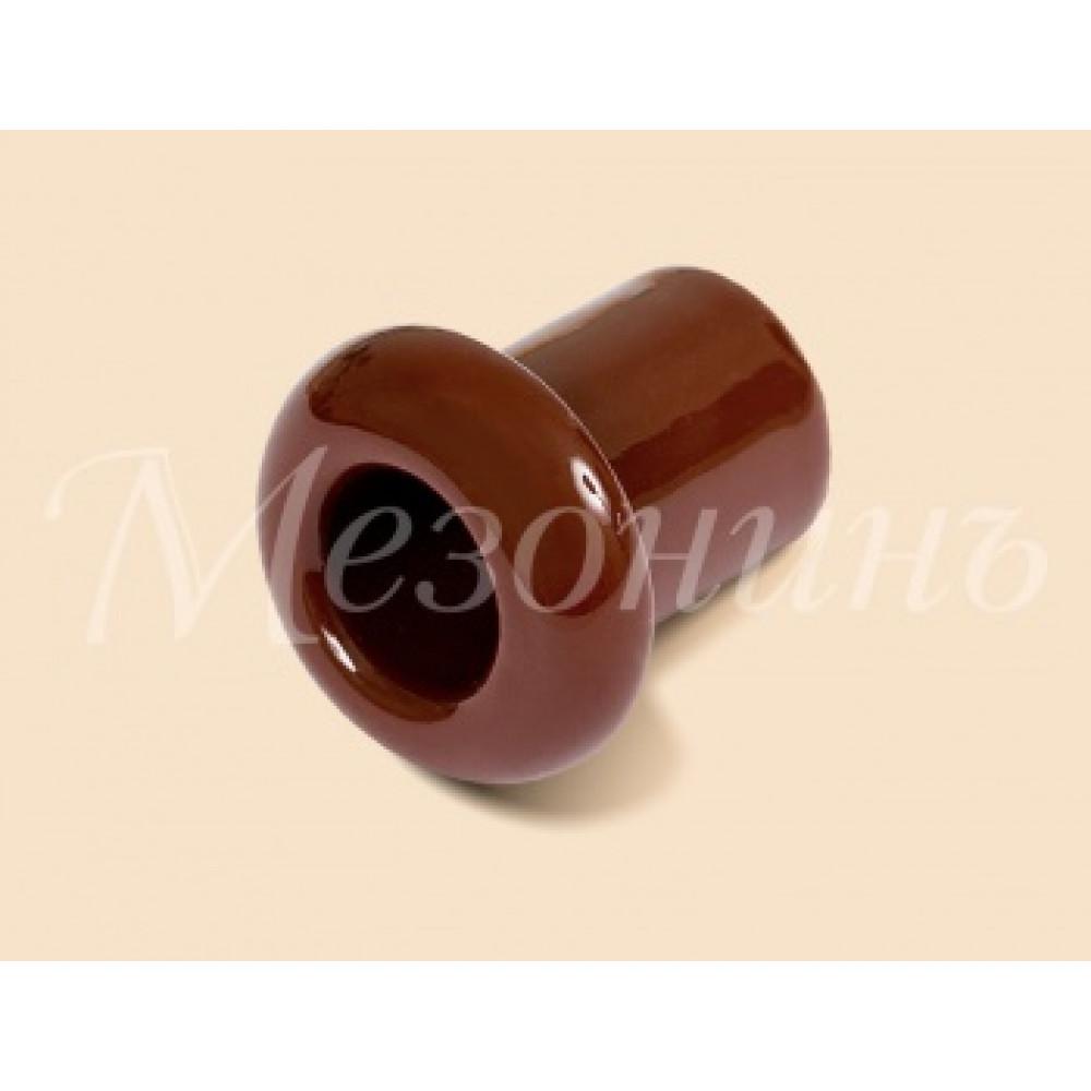 Втулка Мезонинъ D25x25 коричневый (2)