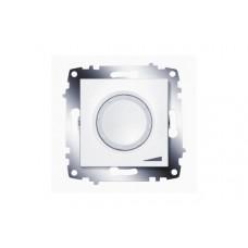 Диммер ABB Cosmo 800Вт белый подсв. LED (12)