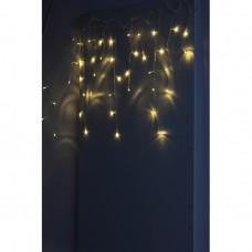 Гирлянда ENIB-01B LED бахрома 1.8м х1.5 теплый свет 8 реж 220В IP20 (100)