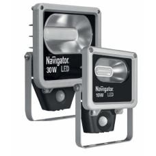 Прожектор диодный 10Вт 4000K 600Лм IP65 датчик Navigator NFL-M (16)
