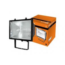 Прожектор галогенный 1000Вт R7s IP54 TDM черный (8)