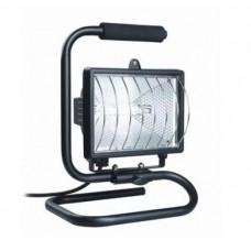 Прожектор галогенный 150Вт R7s IP54 переносной IEK ИО-150П черный (12)