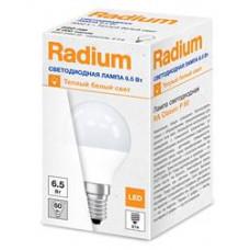 Лампа диодная шар G45 6.5Вт Е14 3000К 550Лм Osram Radium (10)